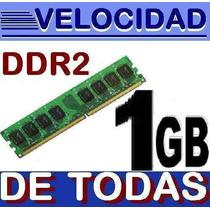 Memoria Ram 1gb Ddr2 Pc2-3200 Pc2-4200 Pc2-5300 Pc2-6400