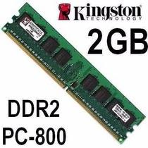 Memoria Ram Kingston 2gb 800mhz Kvr800d2n6/2g Ddr2 Para Pc