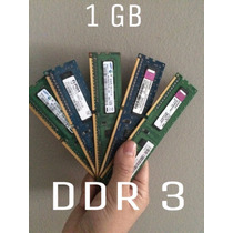 Remate De Memoria Ram Ddr3 De 1 Gb Para Pc