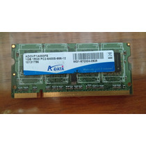 Memoria Ram Laptop Ddr2 Adata 1gb 1rx8 Pc2-6400s-666-12