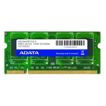 Memoria Ram Sodimm Ddr2 Adata 2 Gb 667 Mhz Laptop Mdn