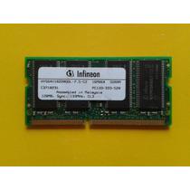 Memoria Ram Laptop 128mb Infineon Ddr 133mhz