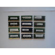 Memoria Ram Laptop Ddr2 1gb Buses 667/800 Varias Marcas