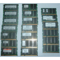 Memorias Ddr1 266/333mhz 256mb Laptop Entrega Gratis Df! Vbf