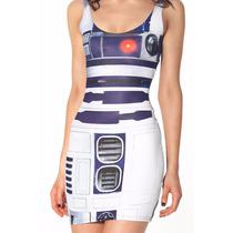 R2d2 Star Wars Black Milk Vestido Arturito