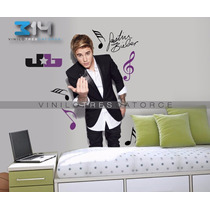 Vinilo Decorativo Justin Bieber-09 Calcomania Artistas.