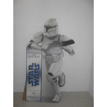 Star Wars Display / Stand-up Clonetrooper Trilogia En Bluray