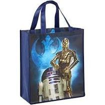 Star Wars Bolsa Reutilizable /para Regalo C3po Y R2d2 Disney