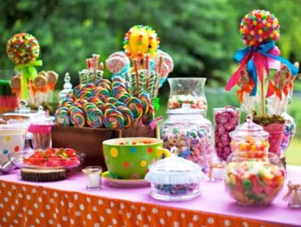 Top centros de mesa con dulces para bautizo wallpapers - Mesa de dulces para bodas ...