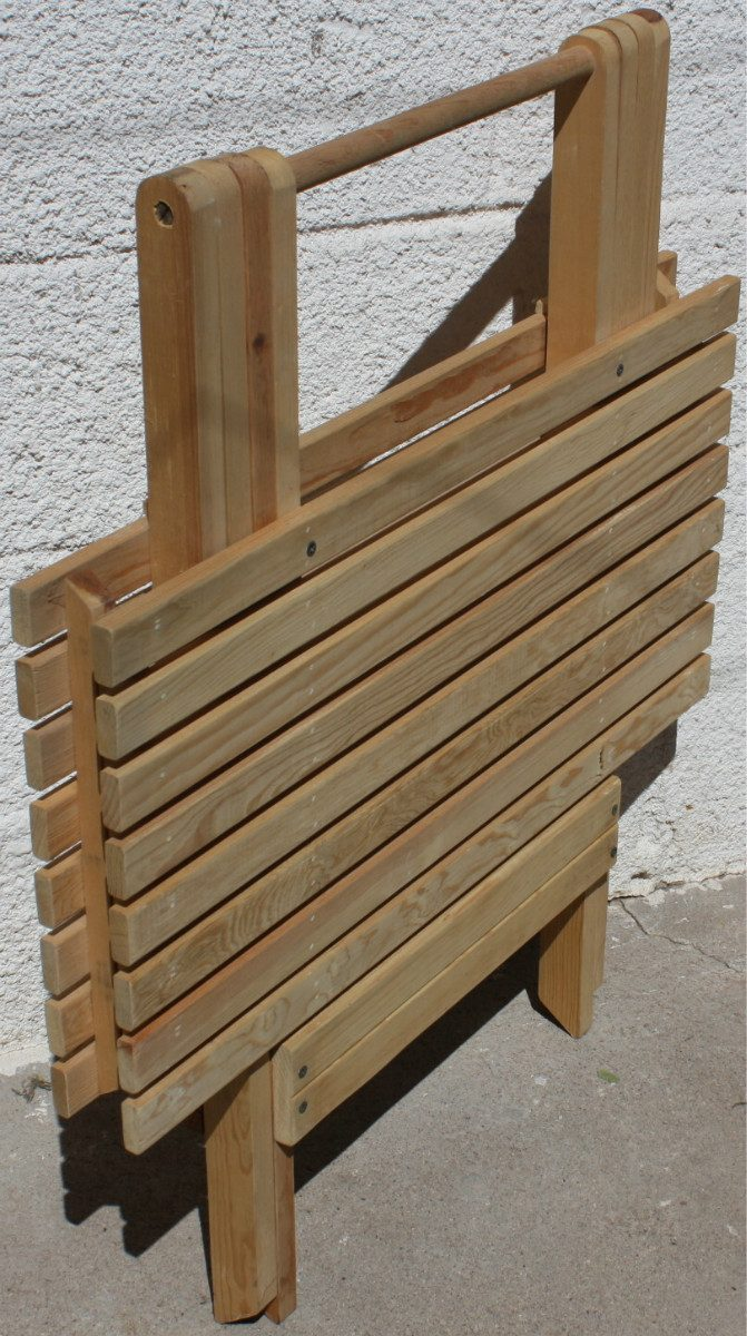 Related pictures mesa centro rectangular madera roble ref for Muebles de jardin de madera