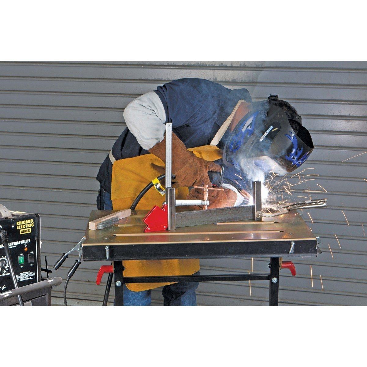Mesa de trabajo de acero ajustable en niveles 2 780 for Mesa de trabajo precio
