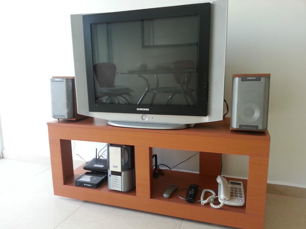 Mesa para tv pantalla barcelona en mercadolibre - Mesas de television de plasma ...