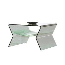 Mesa Moderna Lateral De Cristal - Bodega De Muebles