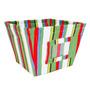 Trend Lab Stripe Fabric Storage Bin, Dr. Seuss Abc