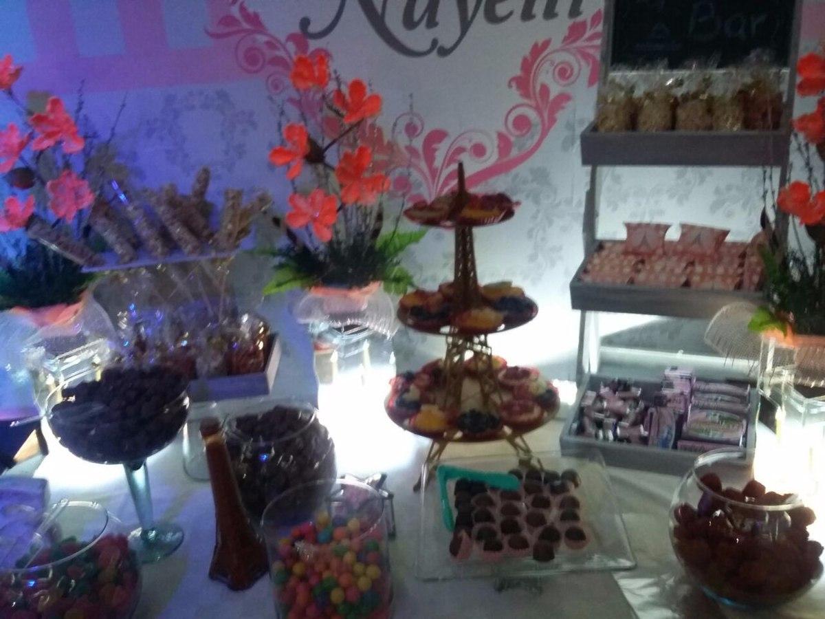 Mesas de dulces para fiesta bodas xv a os bautizos etc for Mesa de dulces para xv anos