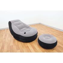 Sillón Inflable Tipo Lounge Para Interior O Exterior. Genial