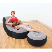 Nuevo Intex Sillon Inflable Tipo Lounge Interior O Exterior