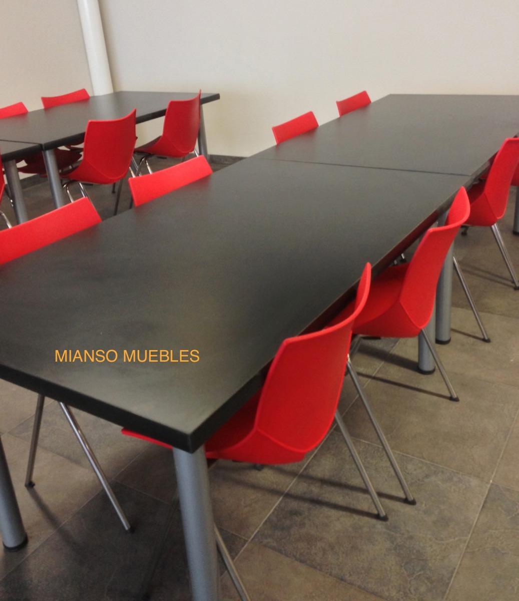 Mesas y sillas comedores industriales 3 en for Comedores mesas