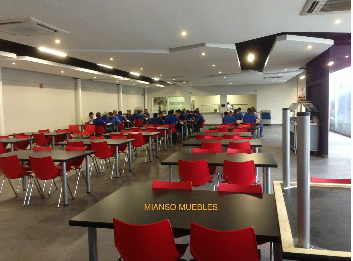 mesas y sillas comedores industriales 3 en