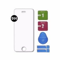 Mica Cristal Templado 9h Iphone 5g, C,s + Kit De Instalacion