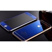 Micas Cristal Templado Iphone 6+ 5 Frontal Y Trasera Colores