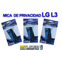 Protector Privacidad Mobo Telefono Celular Lg L3
