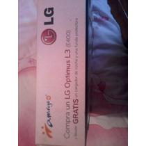 Caja Para Celular Lg Optimus L3