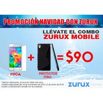 Combo Mica Protectora + Tpu Huawei Varios Modelos Y Colores