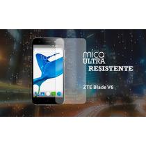 Mica Protectora De Cristal Templado Para Zte Blade V6