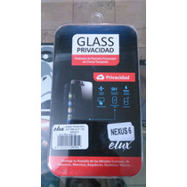 Mica Cristal Templado Privacidad 9h Motorola Nexus 6