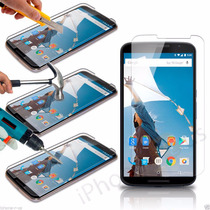 Mica Cristal Templado Motorola Nexus 6 Tempered Glass