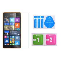 Cristal Templado 0.3mm Orilla 2.5d Nokia Lumia 535 + Paños