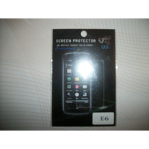 Wwow Mica Protectora De Pantalla Nokia E6!!!