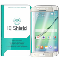 Mica Vidrio Templado Samsung Galaxy S6 Edge Plus Iq Shield