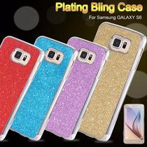 Funda De Plastico Rigido Con Diamantina Samsung Galaxy S6