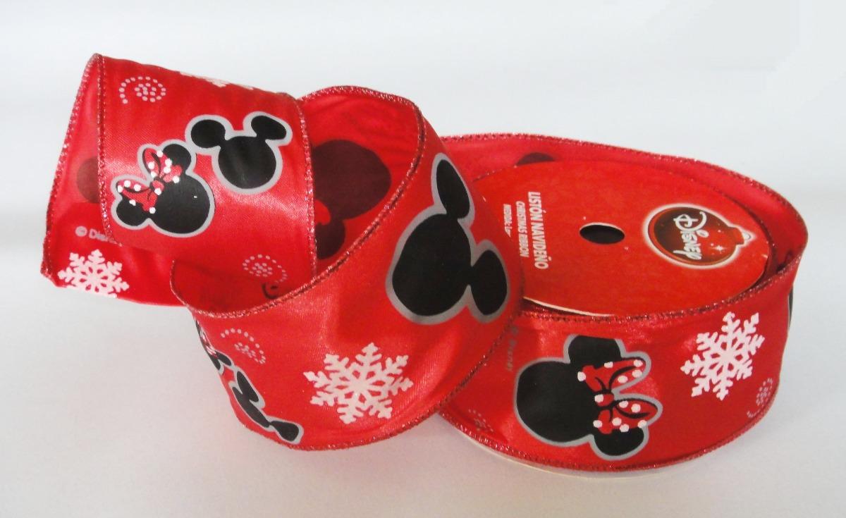 Mickey Mouse Decoracion Navidad ~ Mickey Mouse Decoraci?n Navide?a Coronas Mo?o Pino Navidad  $ 150
