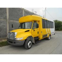 Microbus En Chasis International 2008 Carroceria El Dorado