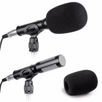 Microfono Profesional Xlr Uni-direccional Pro P/ Entrevistas