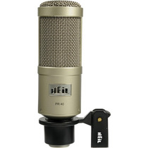 Heil Sound Pr-40 Microfono Estudio Dinamico Supercardioide