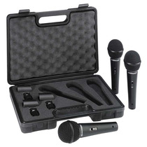 Kit 3 Microfonos Profesionales Behringer Xm1800s Vv4