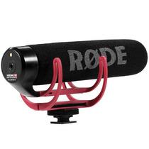 Microfono Shotgun Rode Videomic Go On Rycote Lyre Nuevo Vbf