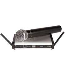 Microfono Inalambrico Uhf Con 2 Antenas Pantalla Digital