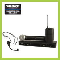Sist Inalámbrico Con Diadema Y Microfono Shure Blx1288/pg30