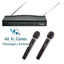 Microfonos Inalambricos Karaoke Wireless