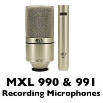Mxl 990/991 Kit De Microfonos Para Grabación