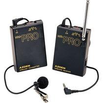 Sistema De Microfono Azden Wlx-pro
