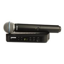 Micrófono Mano Shure Blx24/b58 Sistema Inalámbrico Beta 58a