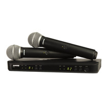 Shure Blx288/pg58 Wireless Vocal Combo Pg58 A Meses Sin Inte