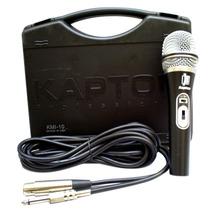 Microfono Alambrico Profesional Kmi-10. Control De Volumen