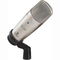 Microfono De Condensador Usb Estudio Behringer C-1u, Nuevo!